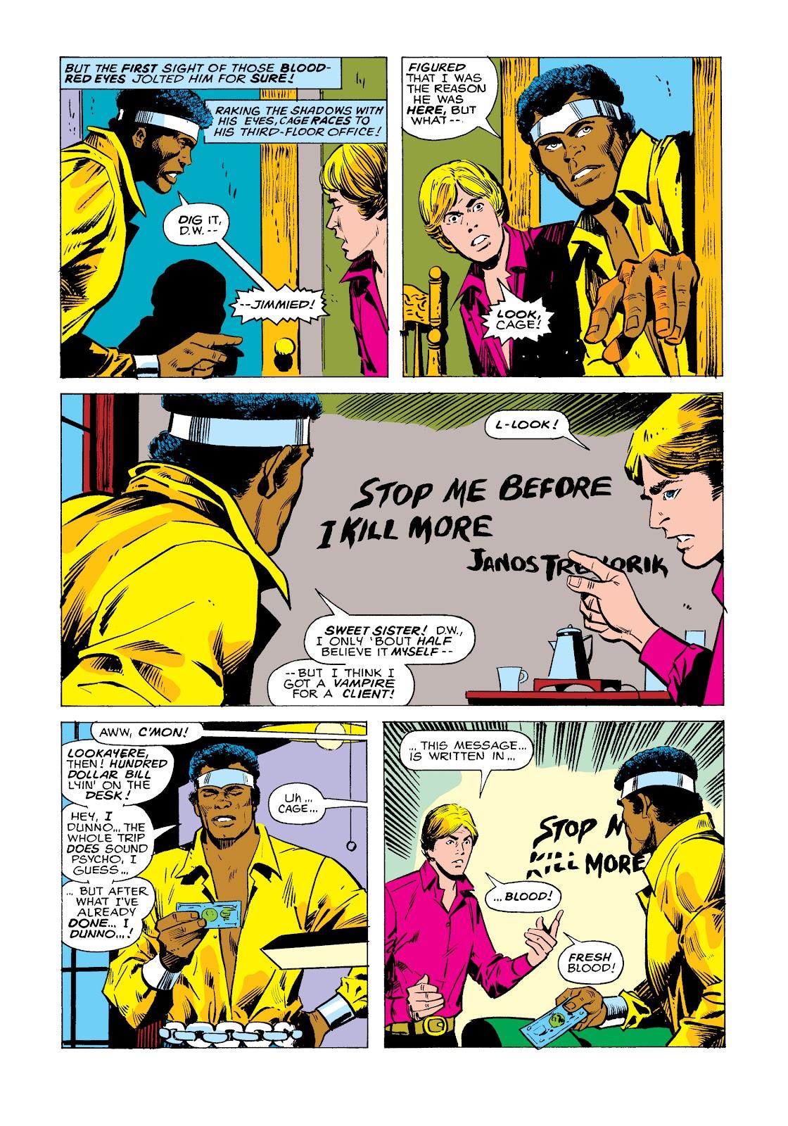 Read online Marvel Masterworks: Luke Cage, Power Man comic -  Issue # TPB 2 (Part 2) - 86