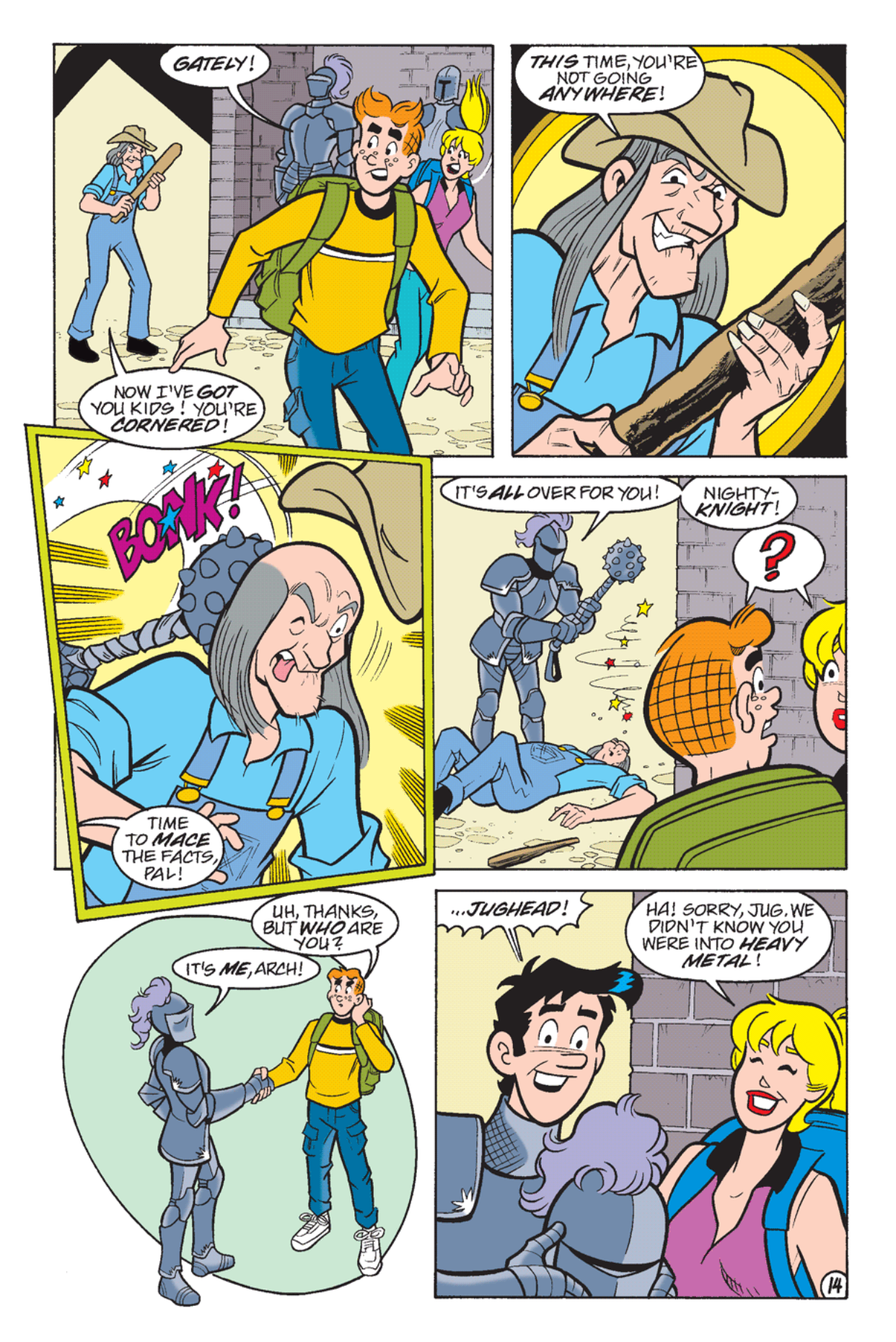 Read online Archie's Weird Mysteries comic -  Issue #24 - 16