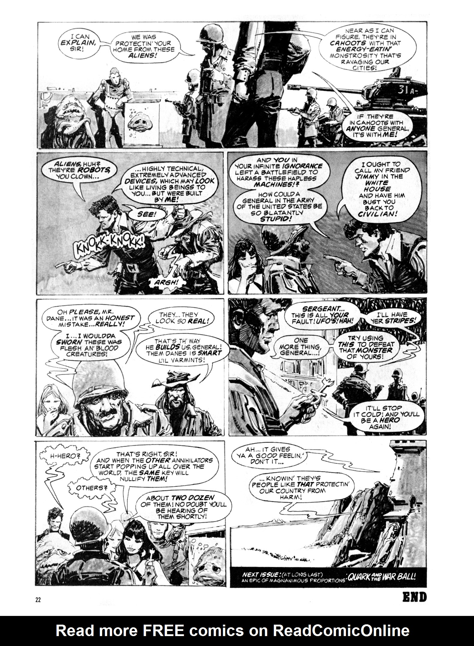 Read online Eerie Archives comic -  Issue # TPB 20 - 22