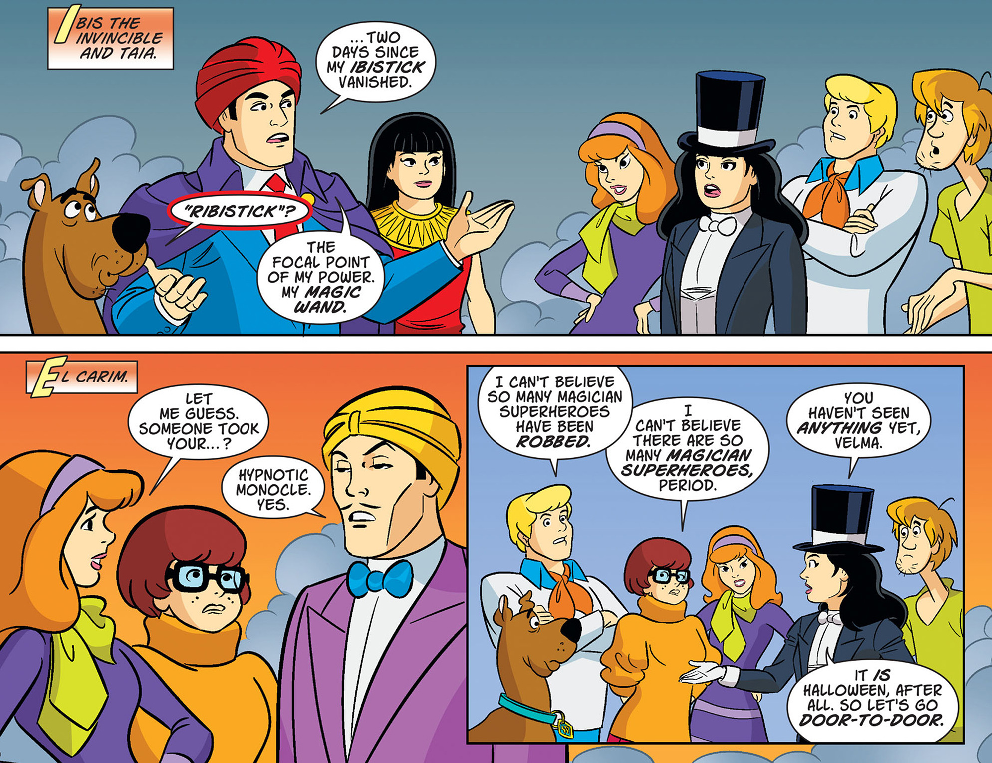 Read online Scooby-Doo! Team-Up comic -  Issue #37 - 13