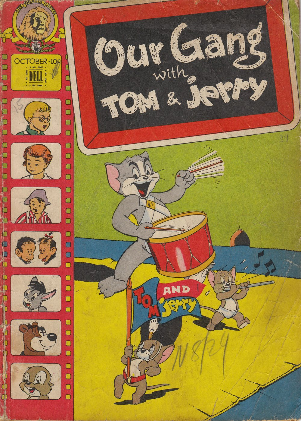 Our Gang with Tom & Jerry 39 Page 1