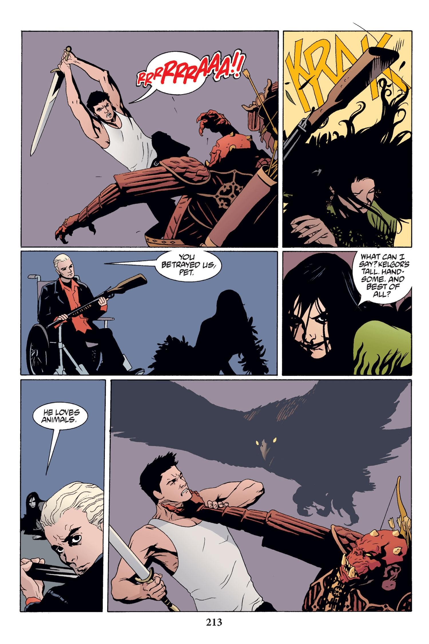 Read online Buffy the Vampire Slayer: Omnibus comic -  Issue # TPB 2 - 207