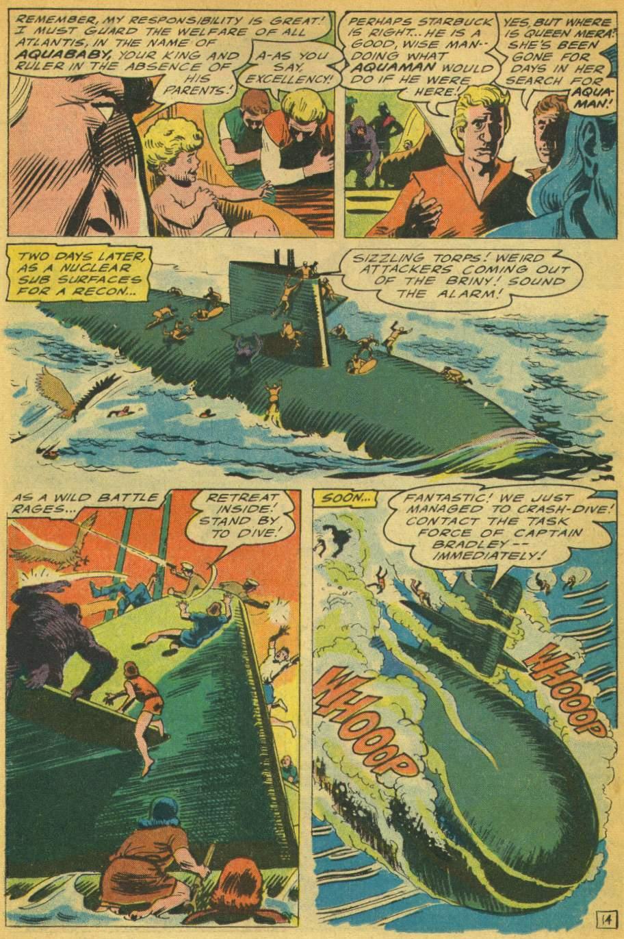 Read online Aquaman (1962) comic -  Issue #28 - 19