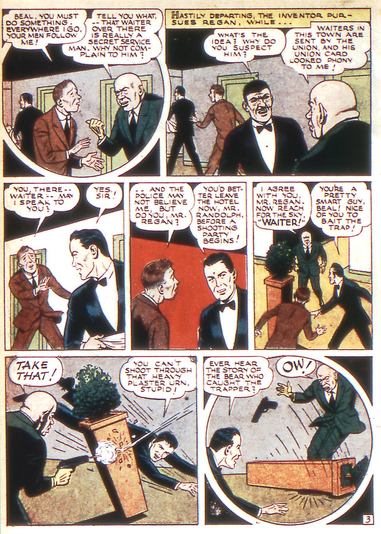 Read online Detective Comics (1937) comic -  Issue #81 - 34