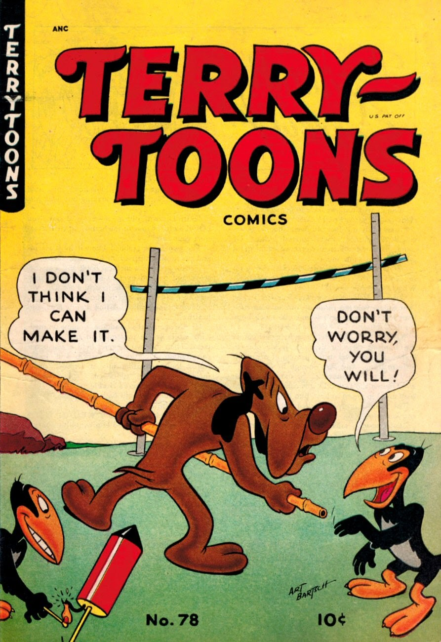 Terry-Toons Comics issue 78 - Page 1
