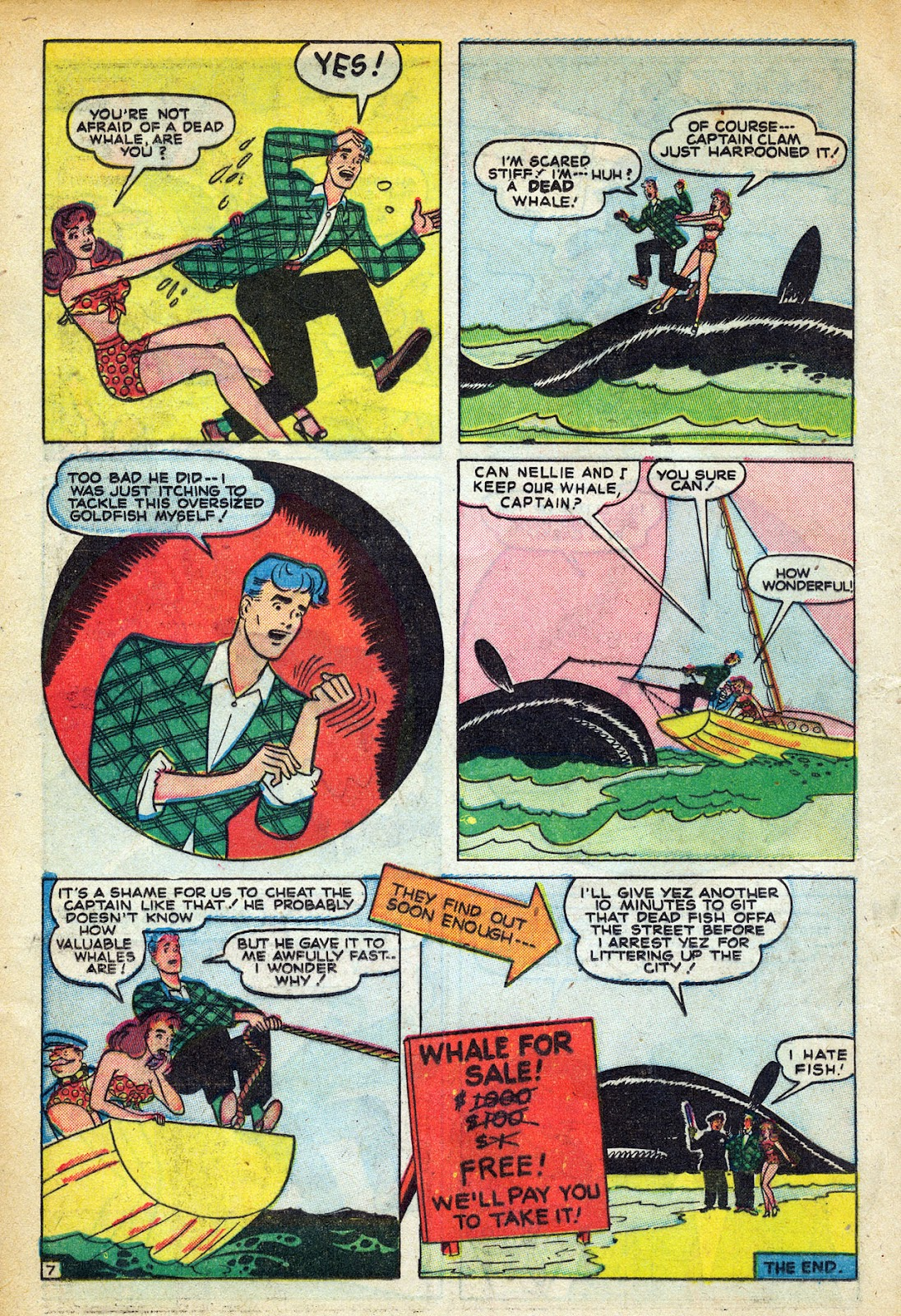 Read online Nellie The Nurse (1945) comic -  Issue #20 - 18