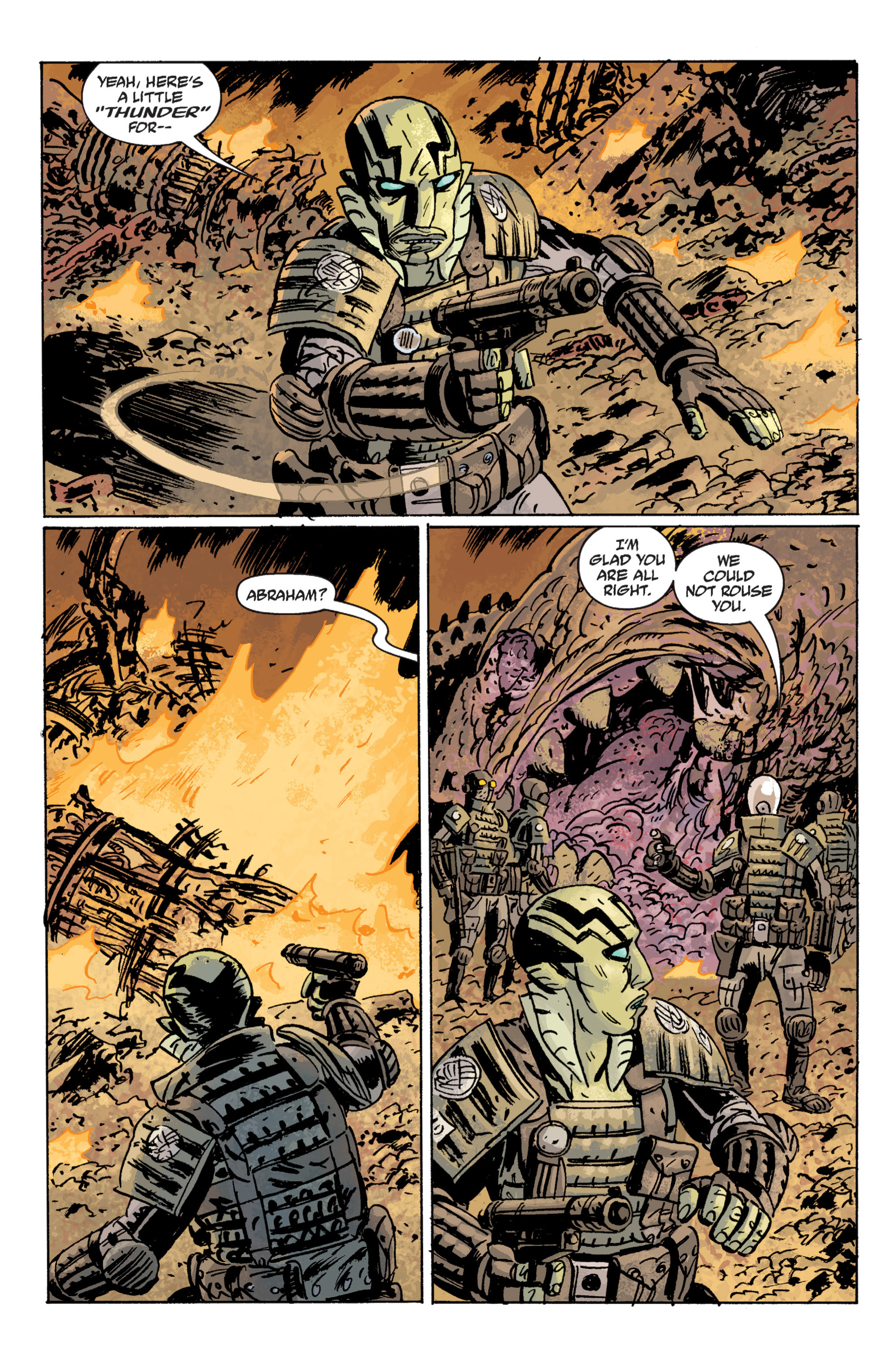 Read online B.P.R.D. (2003) comic -  Issue # TPB 10 - 121