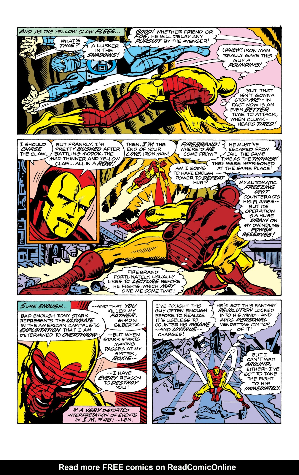 Read online Marvel Masterworks: The Invincible Iron Man comic -  Issue # TPB 10 (Part 2) - 68