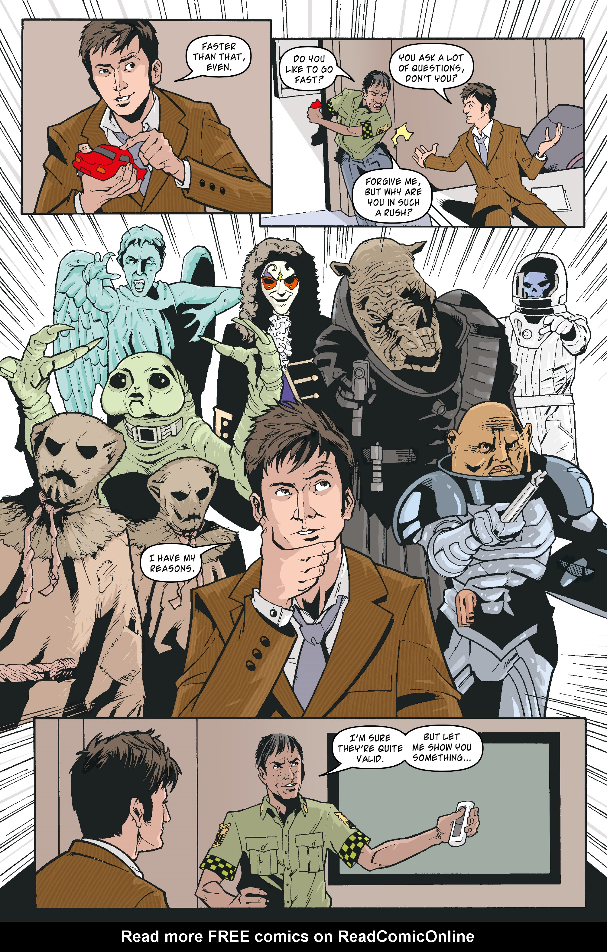Read online Doctor Who: The Tenth Doctor Archives comic -  Issue #35 - 11