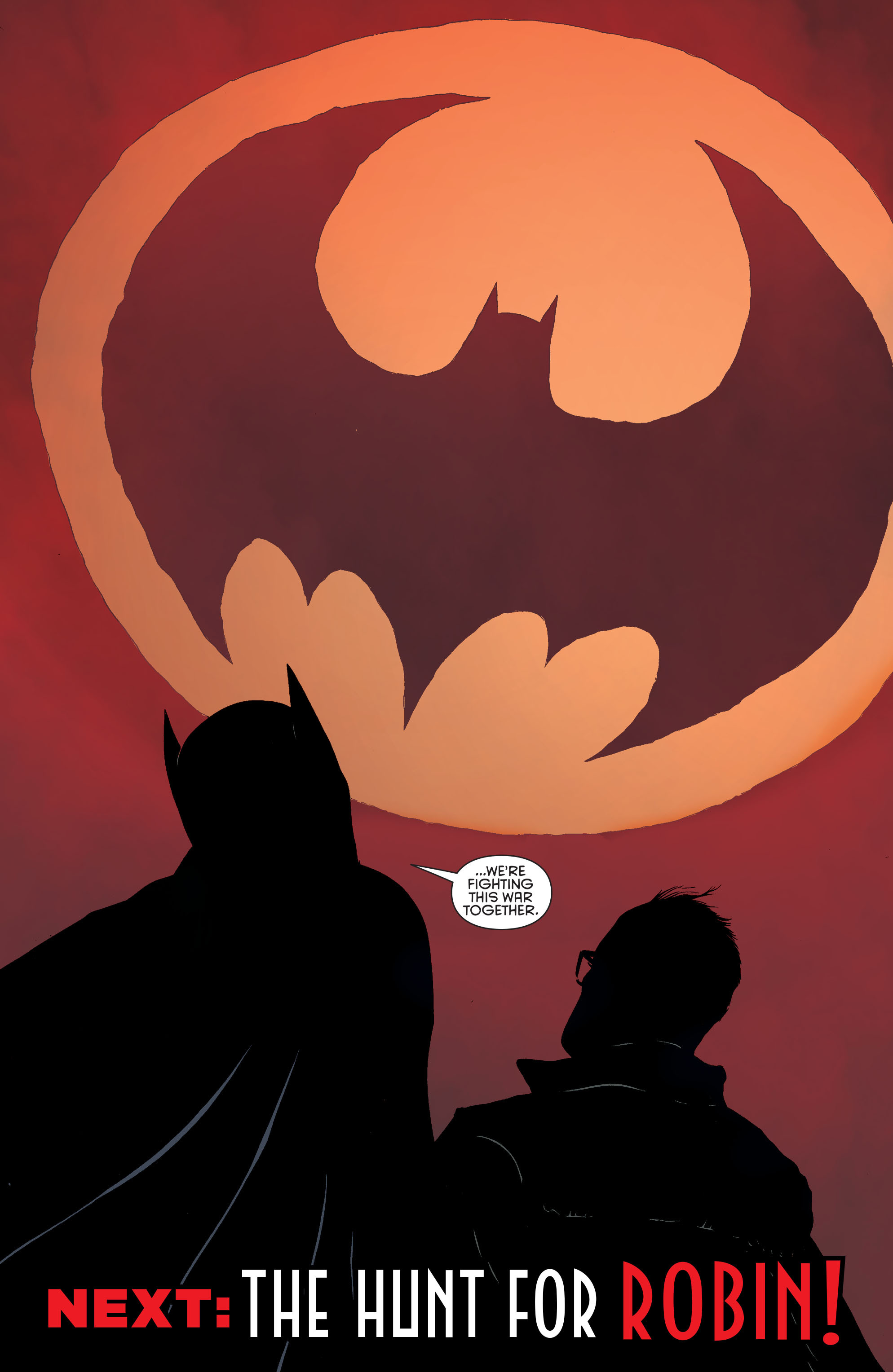 Read online Batman and Robin (2011) comic -  Issue #28 - Batman and Two-Face - 21