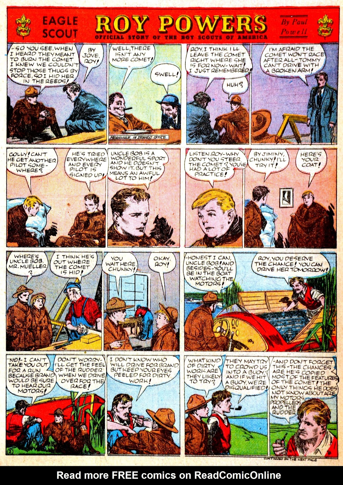 Read online Famous Funnies comic -  Issue #52 - 7