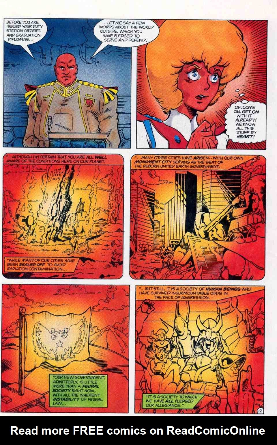 Robotech Special issue Full - Page 13