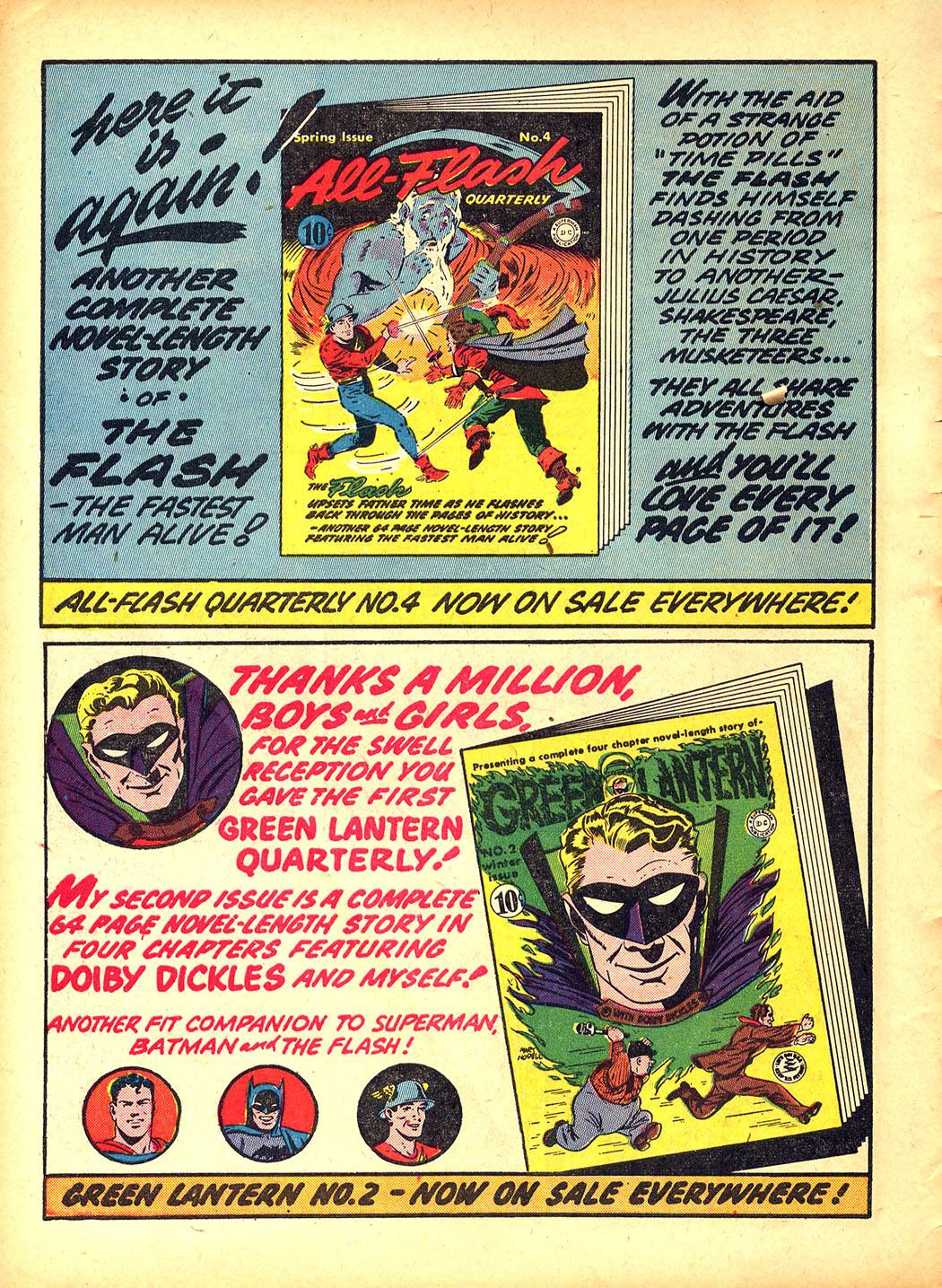 Read online Sensation (Mystery) Comics comic -  Issue #5 - 16