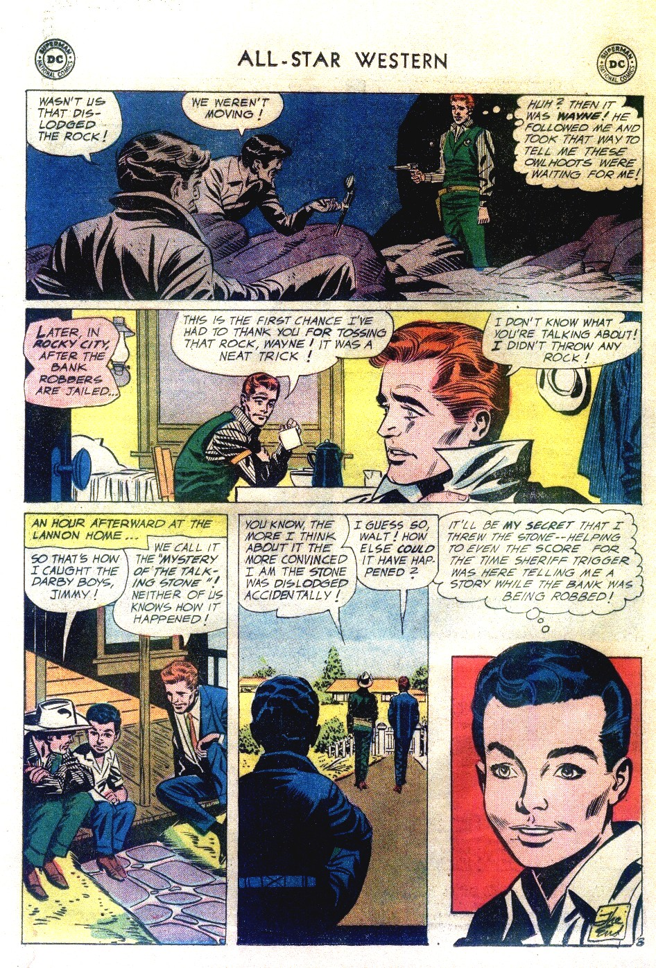 Read online All-Star Western (1951) comic -  Issue #111 - 32