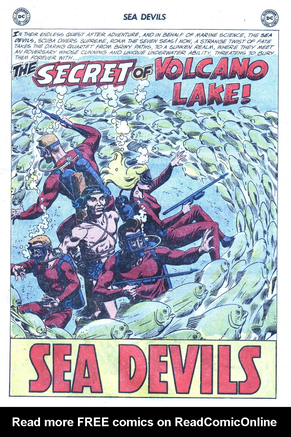 Read online Sea Devils comic -  Issue #4 - 20