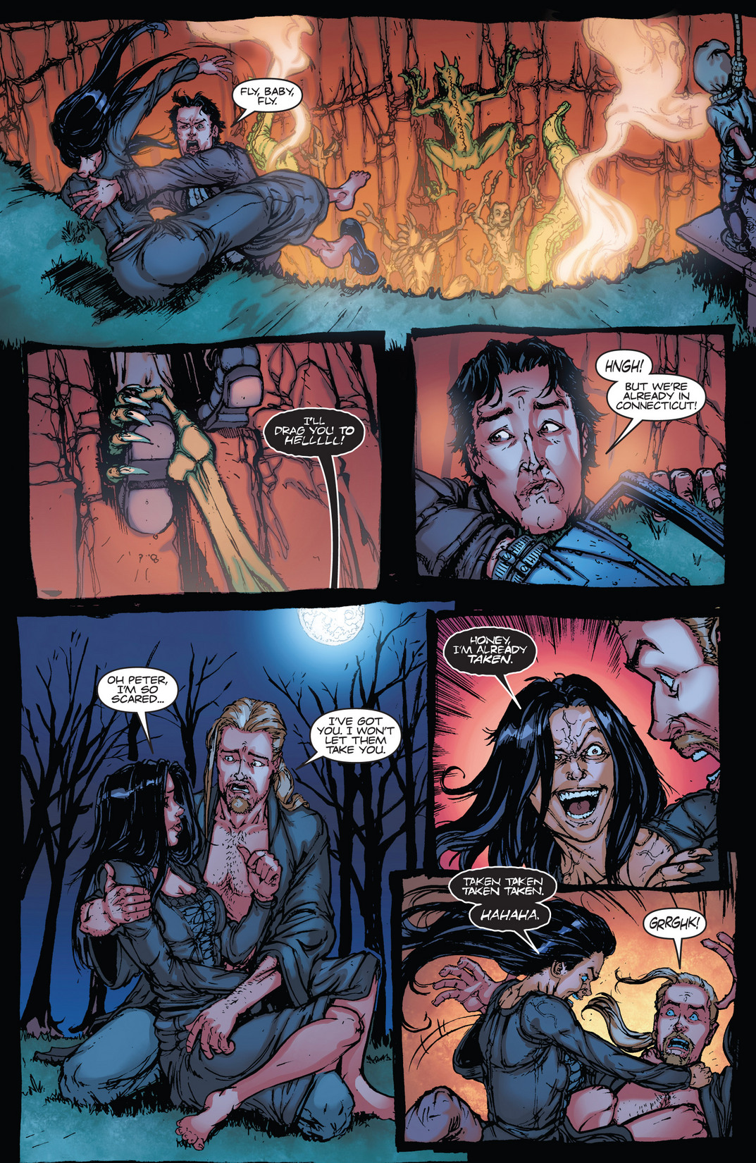 Read online Army of Darkness vs. Hack/Slash comic -  Issue #4 - 18