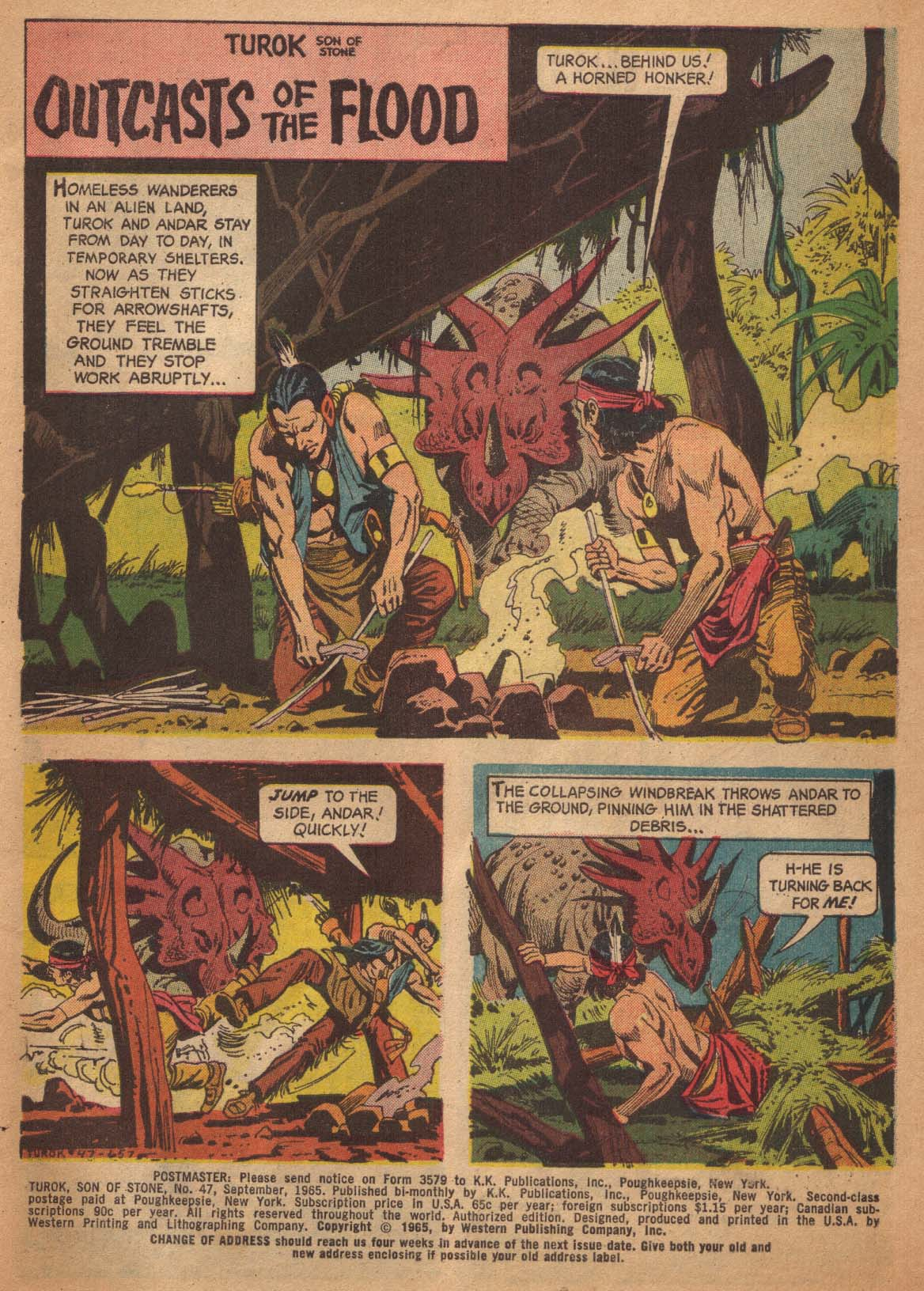Read online Turok, Son of Stone comic -  Issue #47 - 3