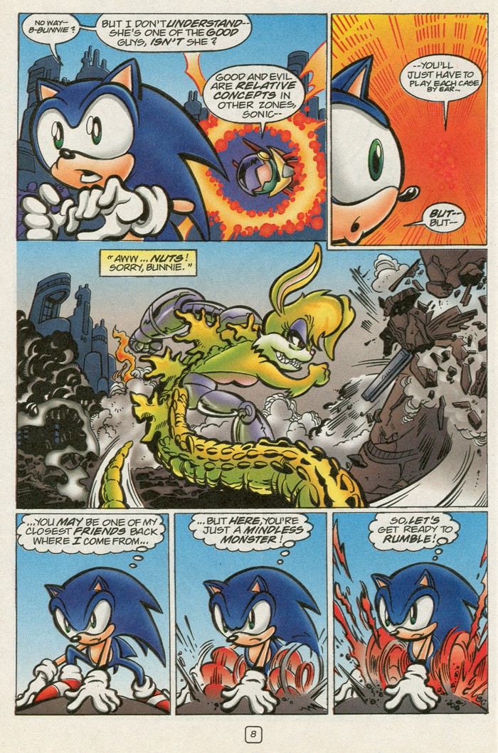 Read online Sonic Super Special comic -  Issue #12 - Sonic and Knuckles visa versa - 25