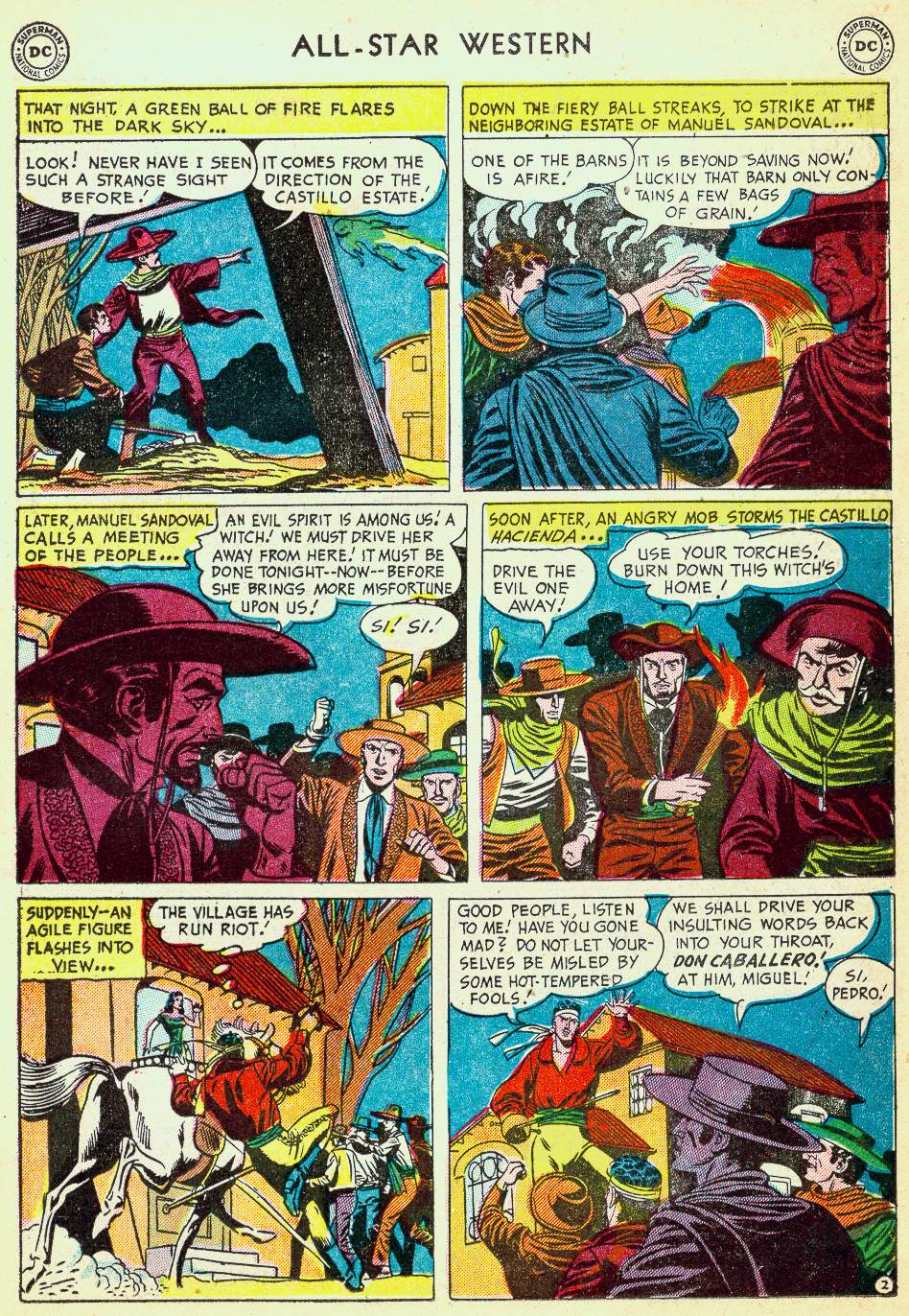 Read online All-Star Western (1951) comic -  Issue #63 - 19