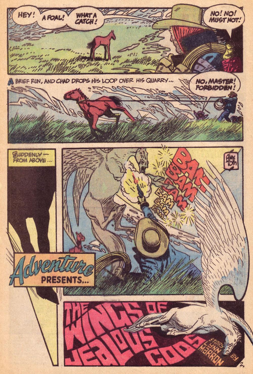 Read online Adventure Comics (1938) comic -  Issue #425 - 3