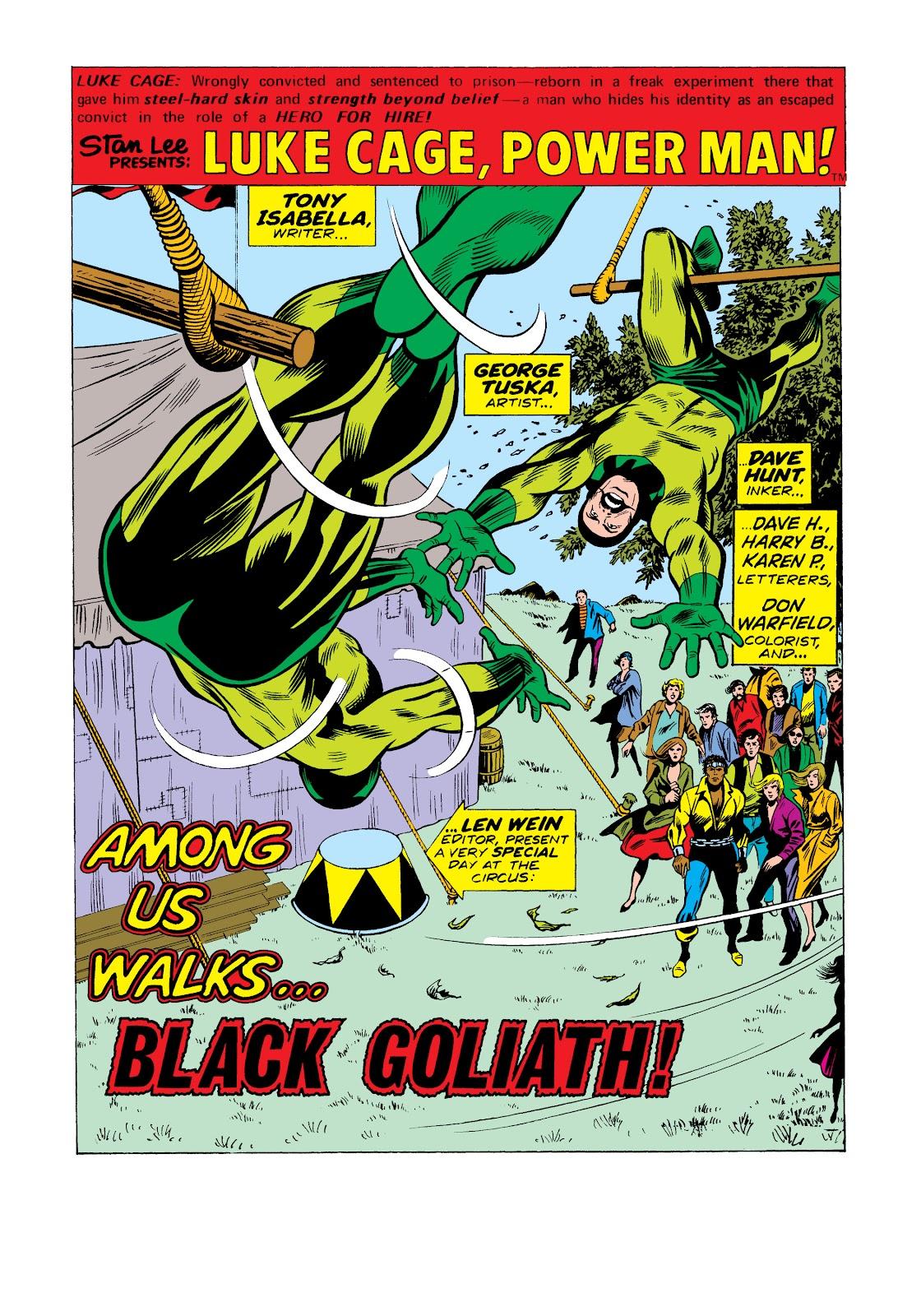 Read online Marvel Masterworks: Luke Cage, Power Man comic -  Issue # TPB 2 (Part 2) - 44