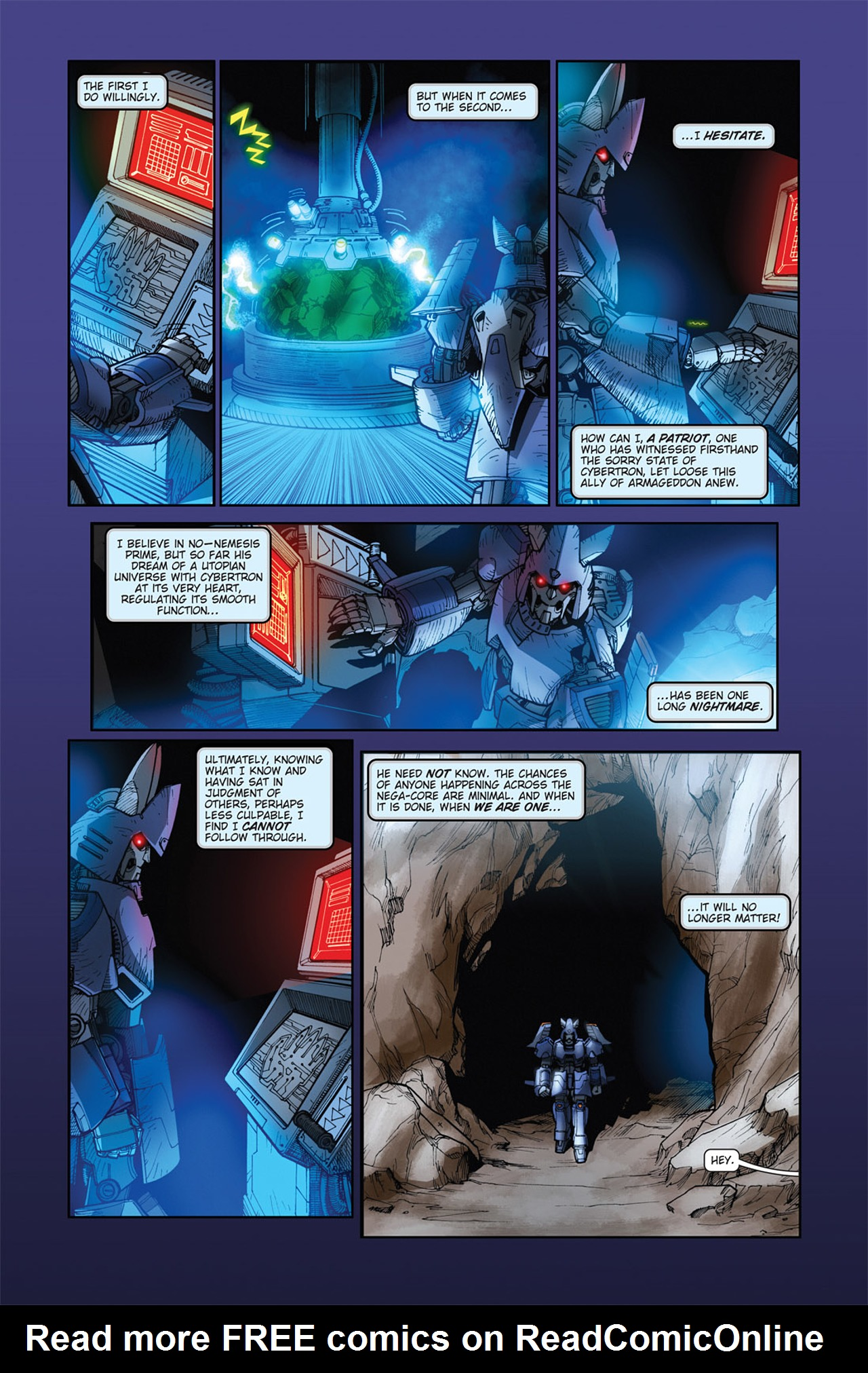 Read online Transformers Spotlight: Cyclonus comic -  Issue # Full - 20