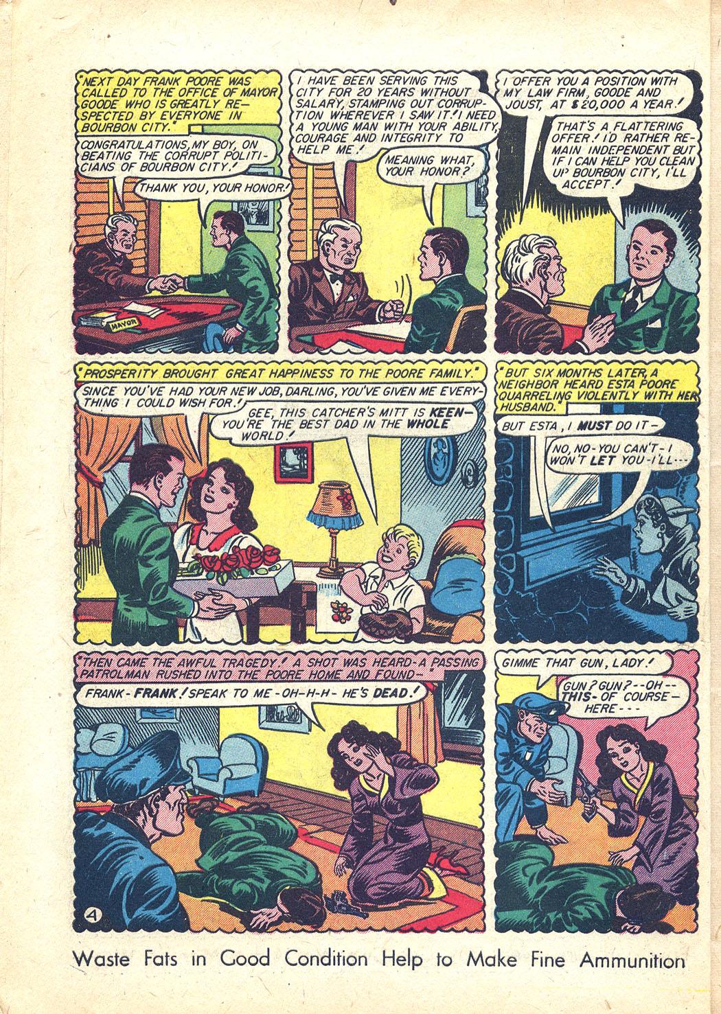 Read online Sensation (Mystery) Comics comic -  Issue #34 - 6