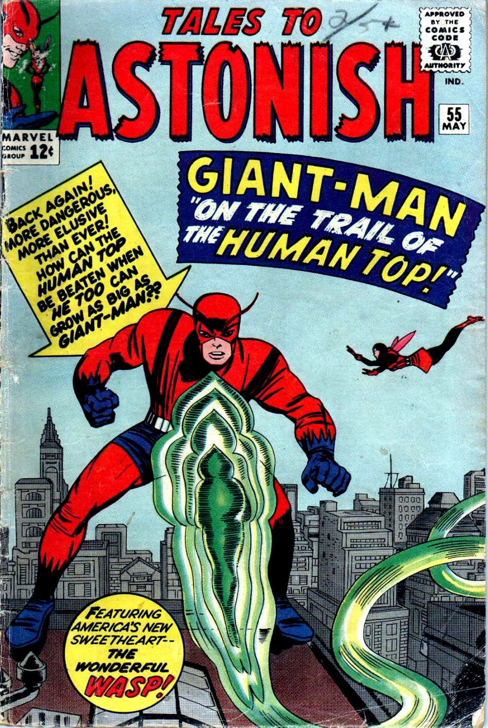 Tales to Astonish (1959) issue 55 - Page 1