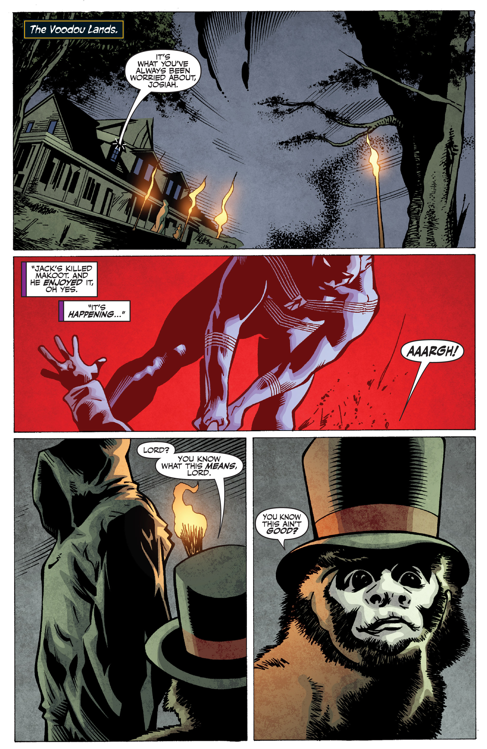Read online Shadowman: End Times comic -  Issue #2 - 3
