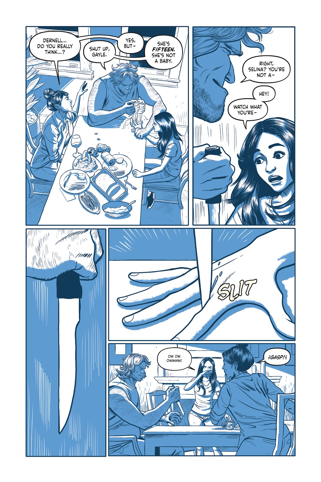 Read online Under the Moon: A Catwoman Tale comic -  Issue # TPB (Part 1) - 19