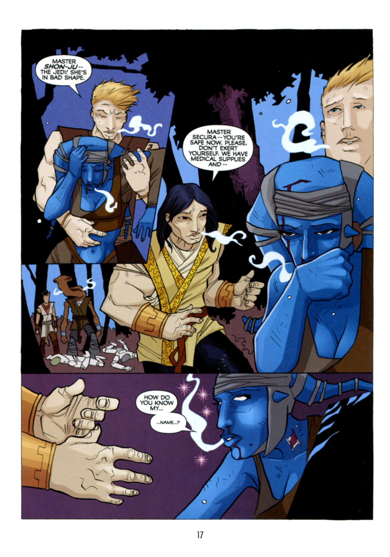 Read online Star Wars: The Clone Wars - Deadly Hands of Shon-Ju comic -  Issue # Full - 18