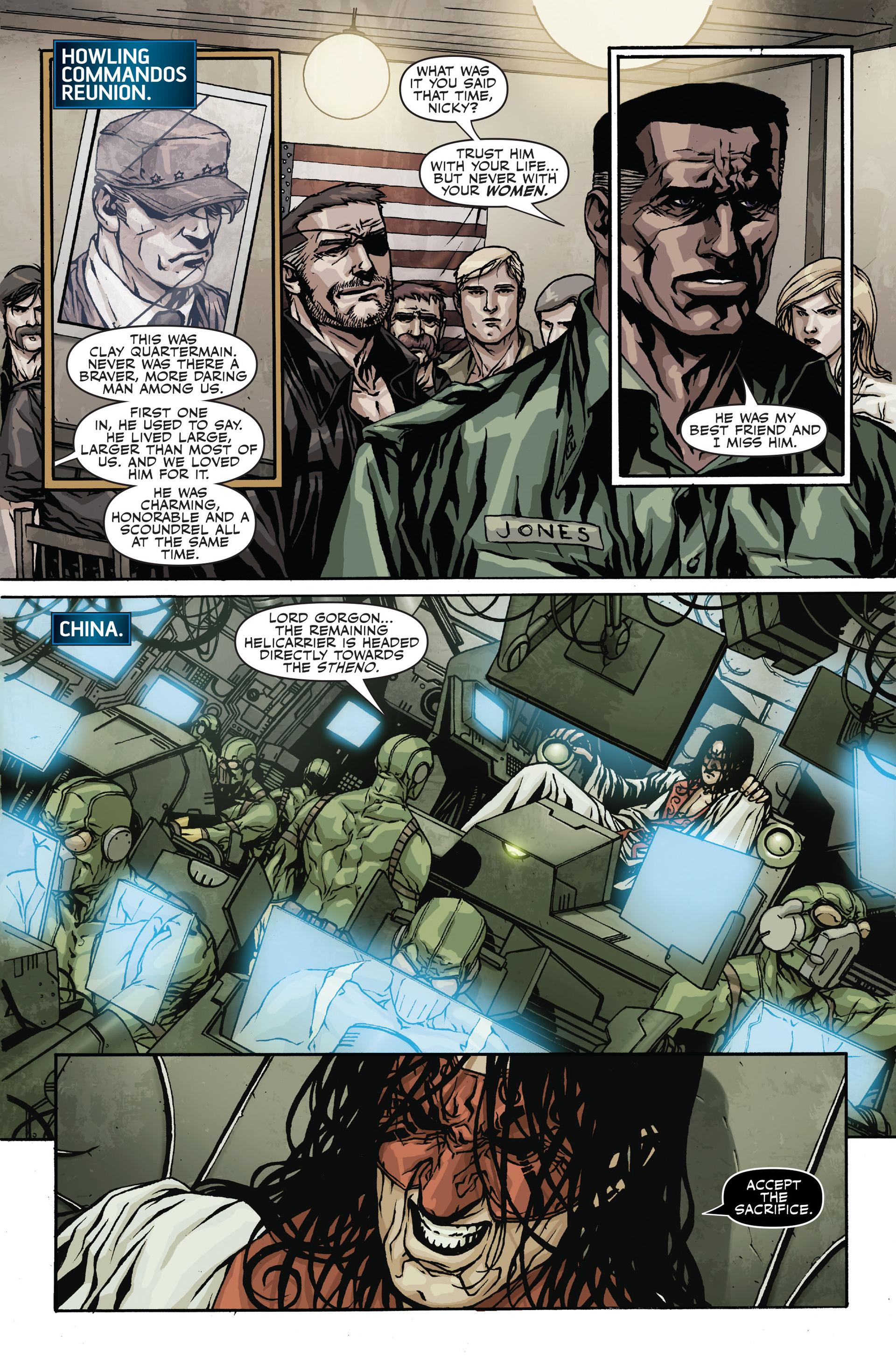 Read online Secret Warriors comic -  Issue #19 - 6