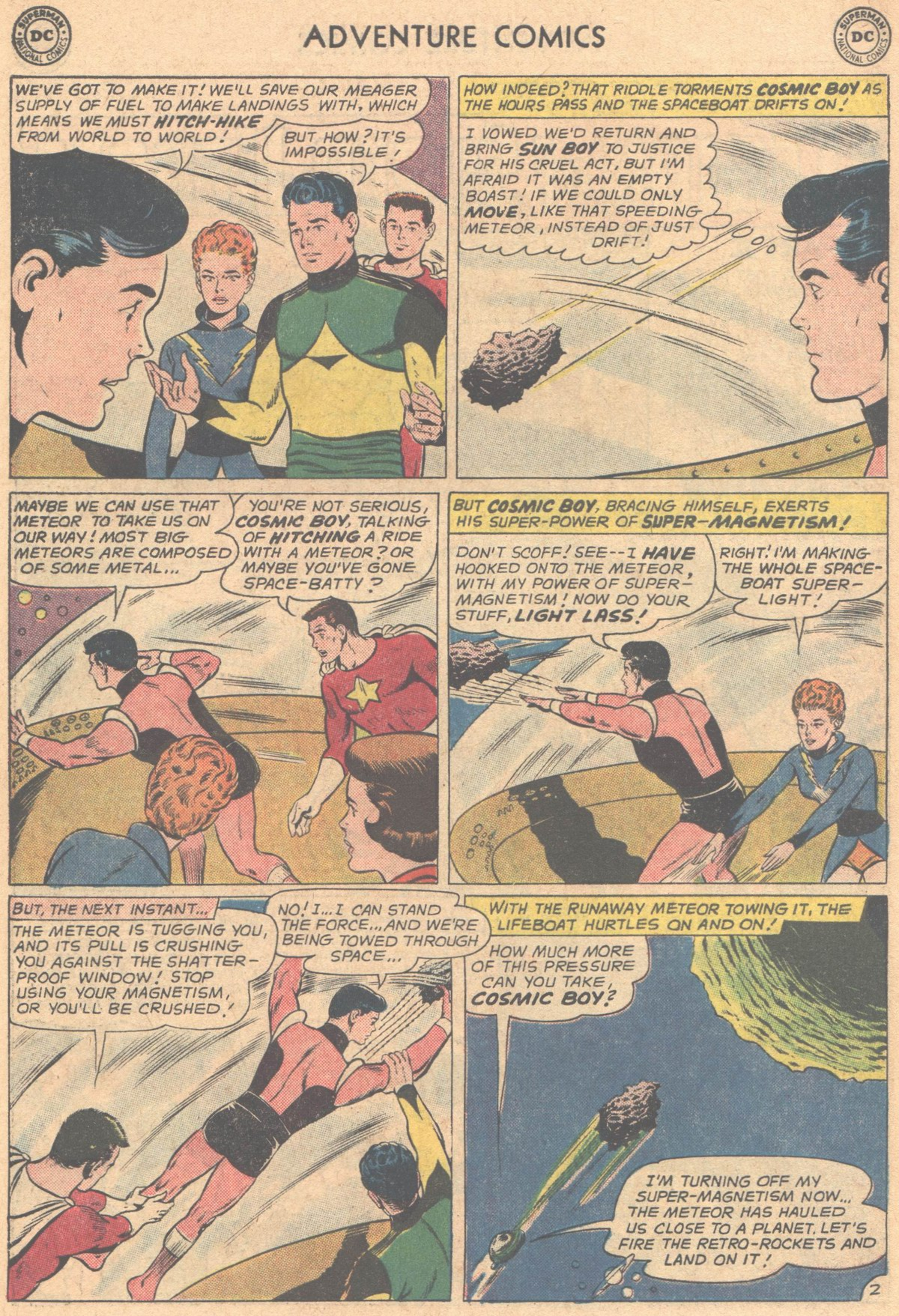 Read online Adventure Comics (1938) comic -  Issue #318 - 14