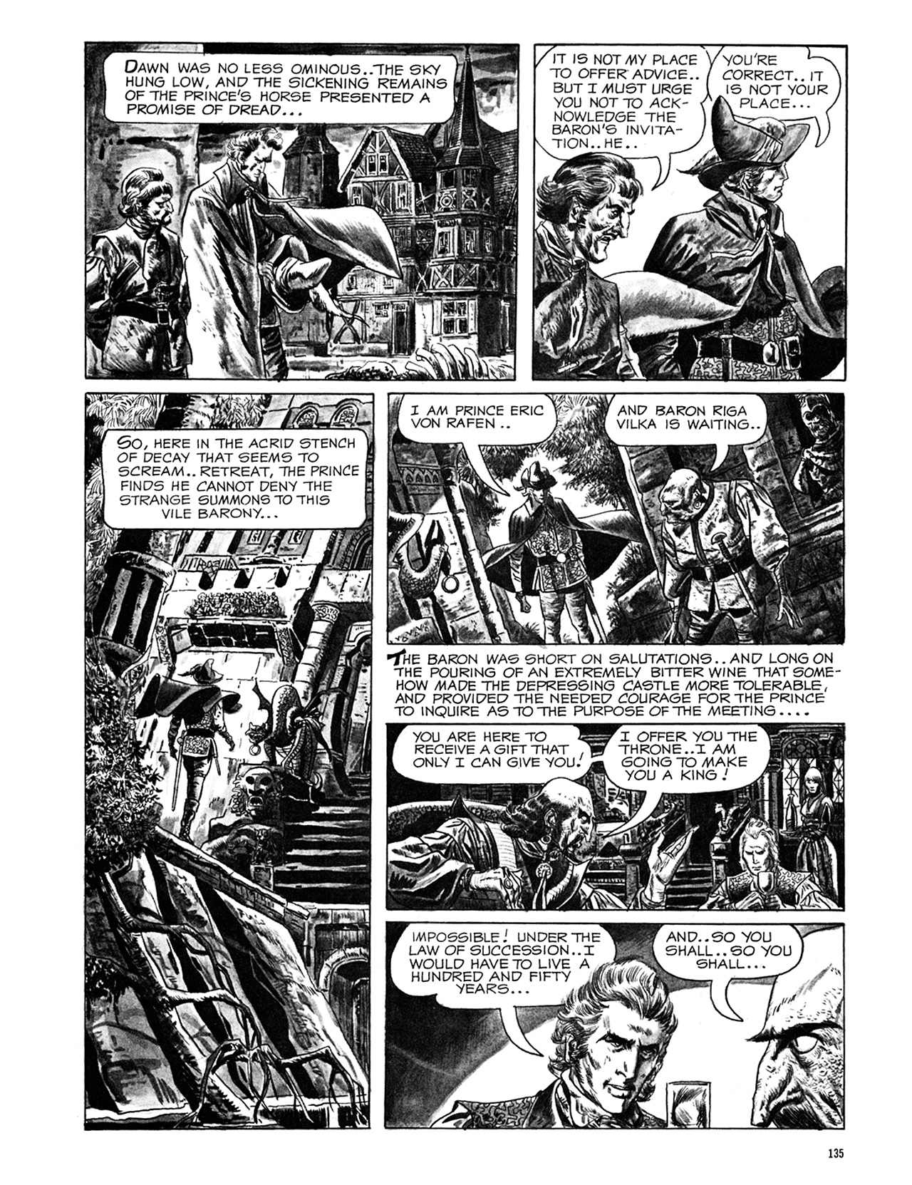 Read online Eerie Archives comic -  Issue # TPB 6 - 135