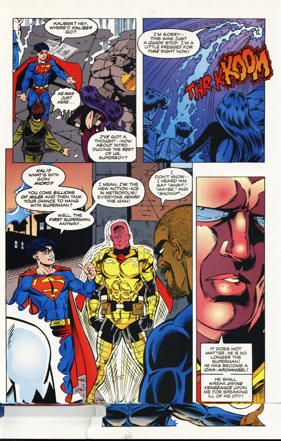 Read online Superboy & The Ravers comic -  Issue #9 - 9