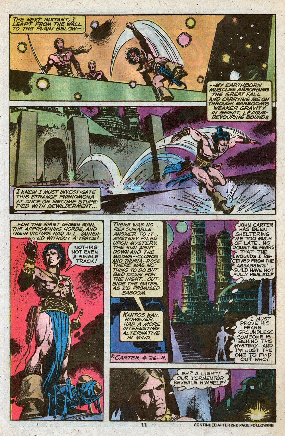 John Carter Warlord of Mars issue 28 - Page 13