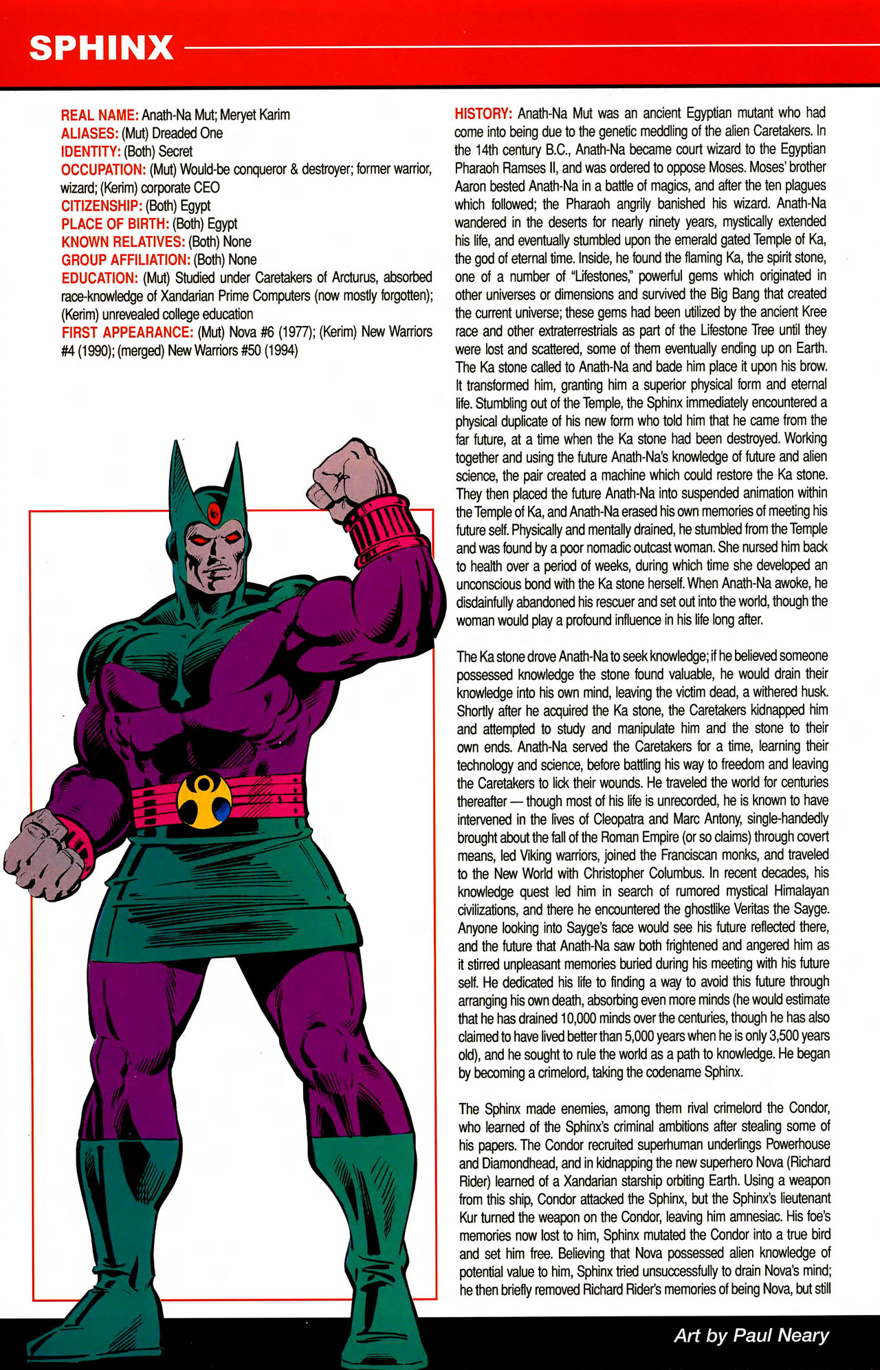 Read online All-New Official Handbook of the Marvel Universe A to Z comic -  Issue #10 - 38