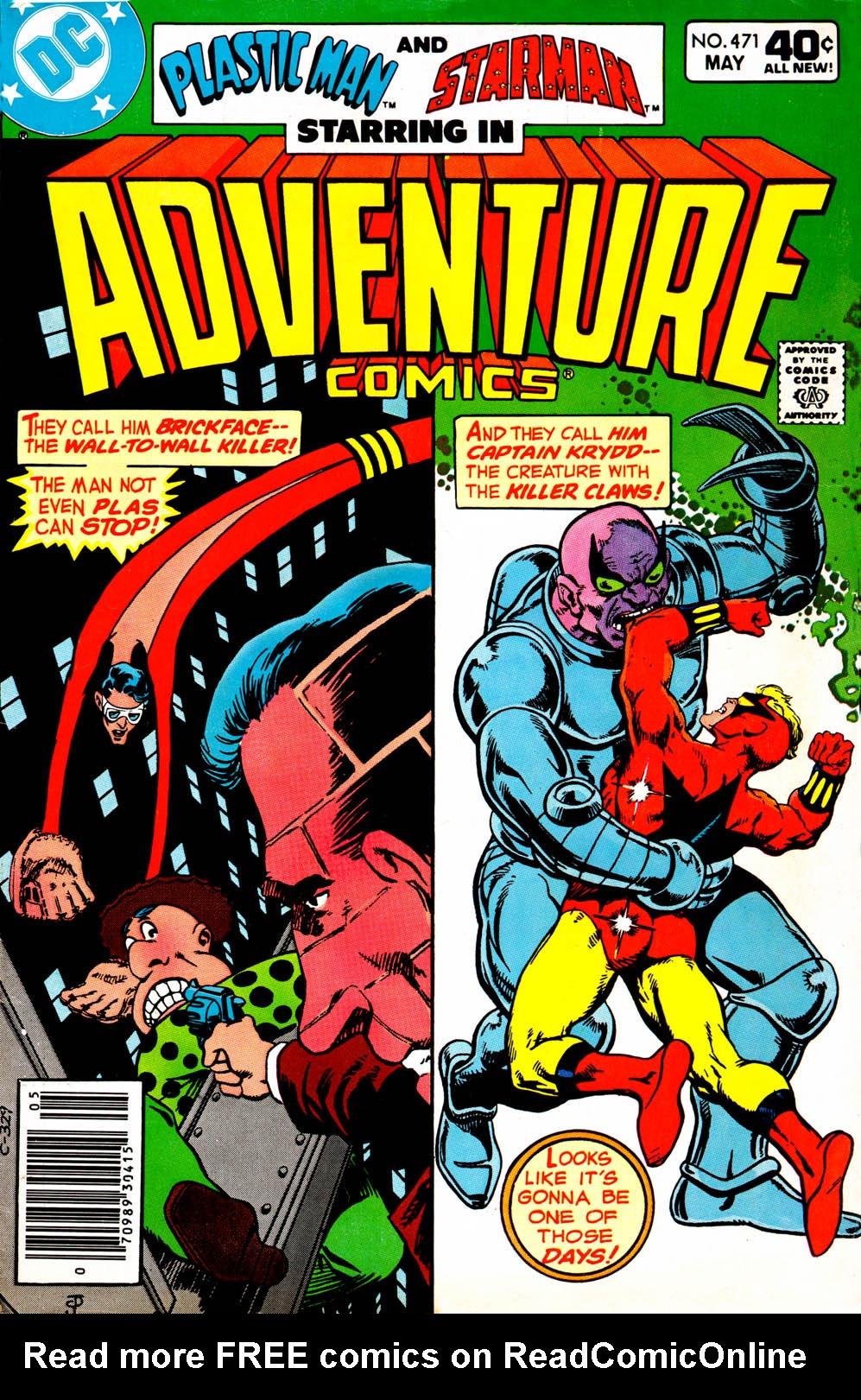 Read online Adventure Comics (1938) comic -  Issue #471 - 1