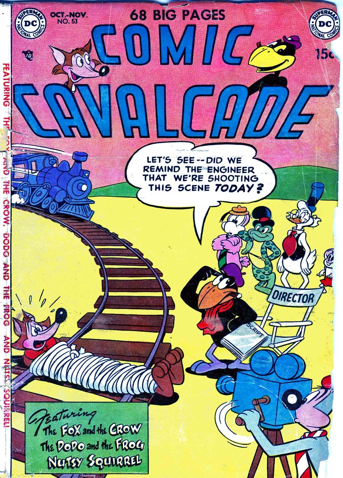 Comic Cavalcade 53 Page 1