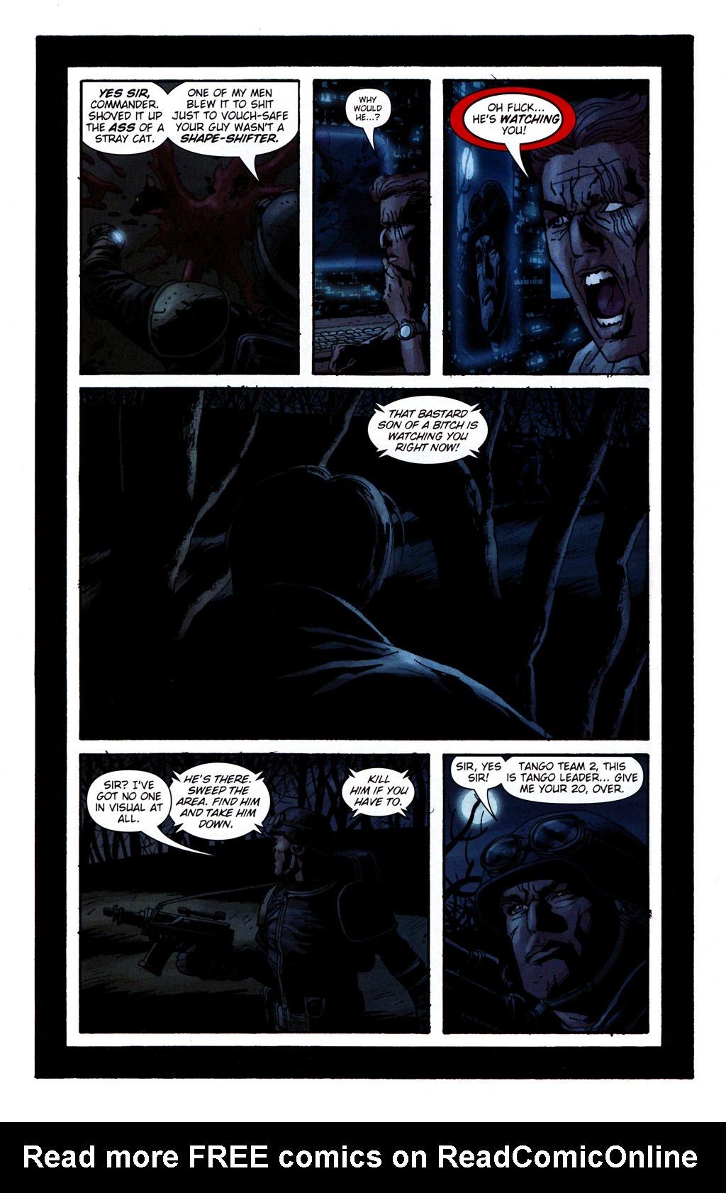 Read online Sleeper: Season Two comic -  Issue #5 - 5