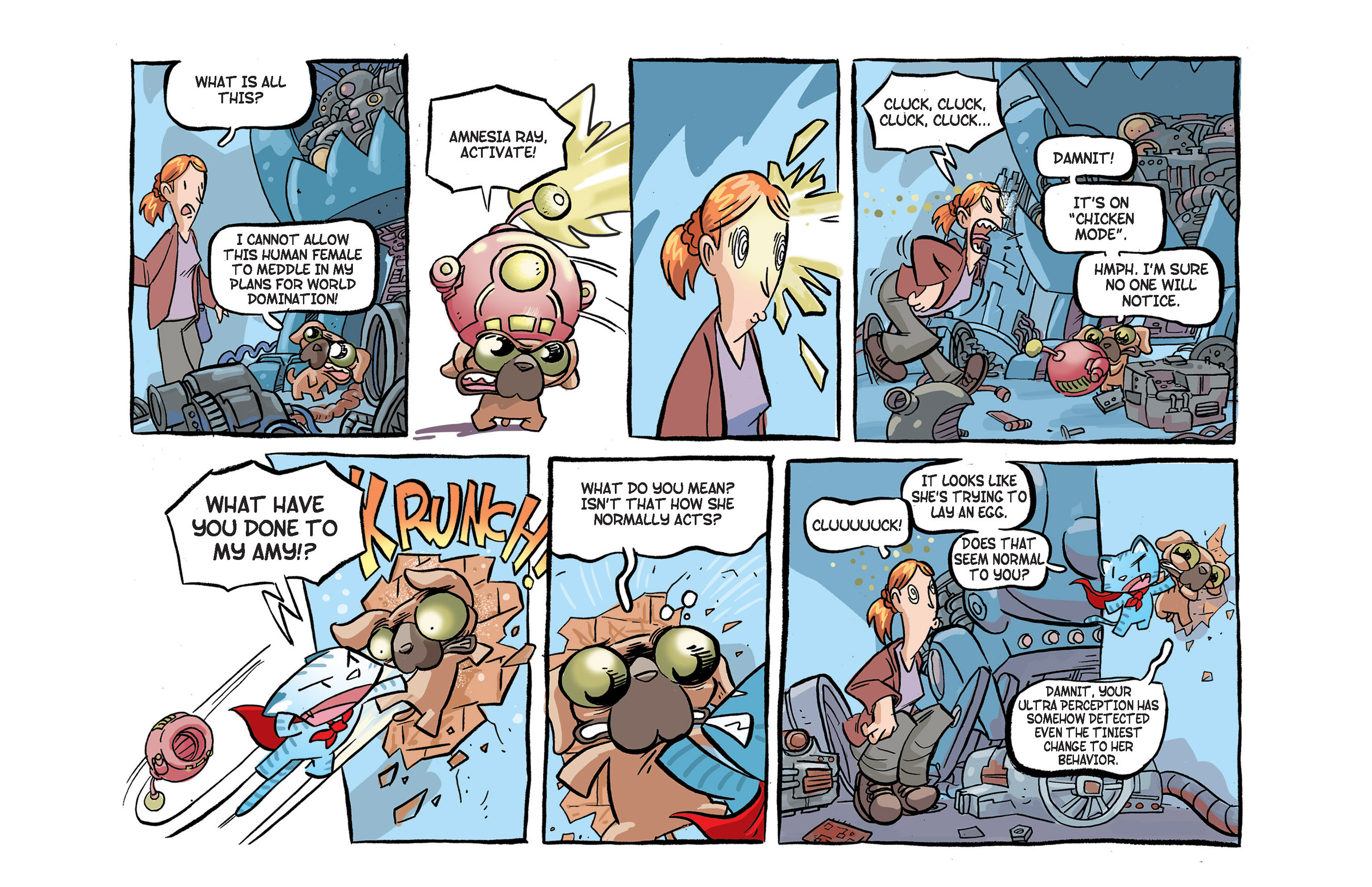 Read online Ultracat comic -  Issue #2 - 15