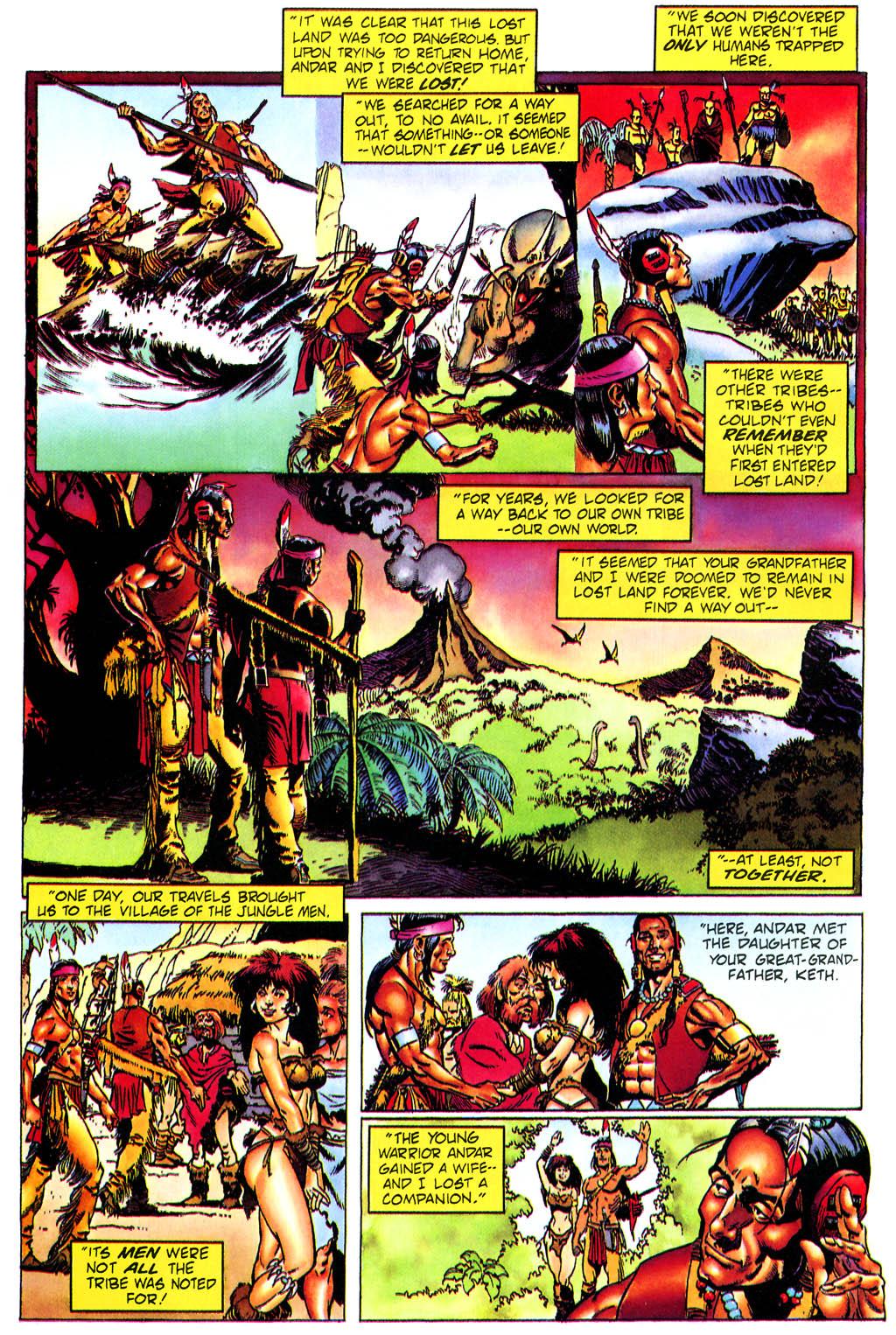 Read online Turok, Dinosaur Hunter (1993) comic -  Issue #0 - 18