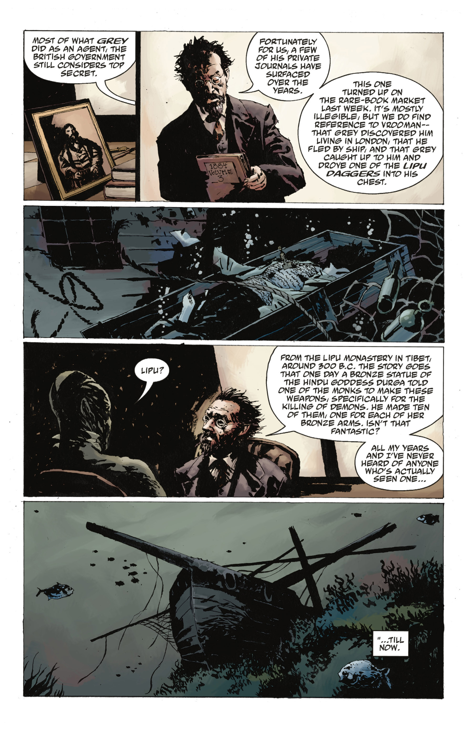 Read online Abe Sapien: The Drowning comic -  Issue #Abe Sapien: The Drowning _TPB - 24