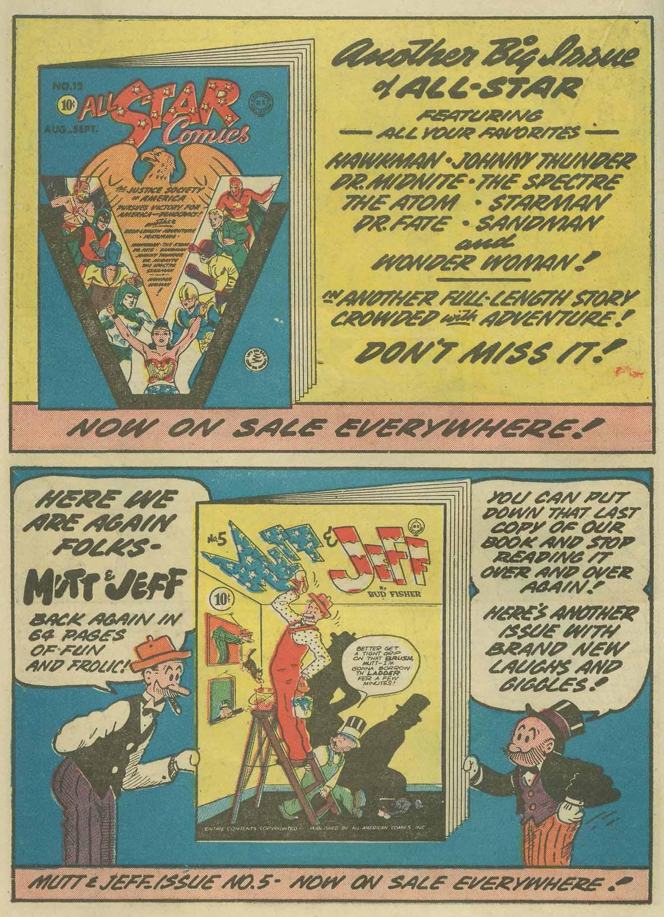 Read online Sensation (Mystery) Comics comic -  Issue #9 - 32