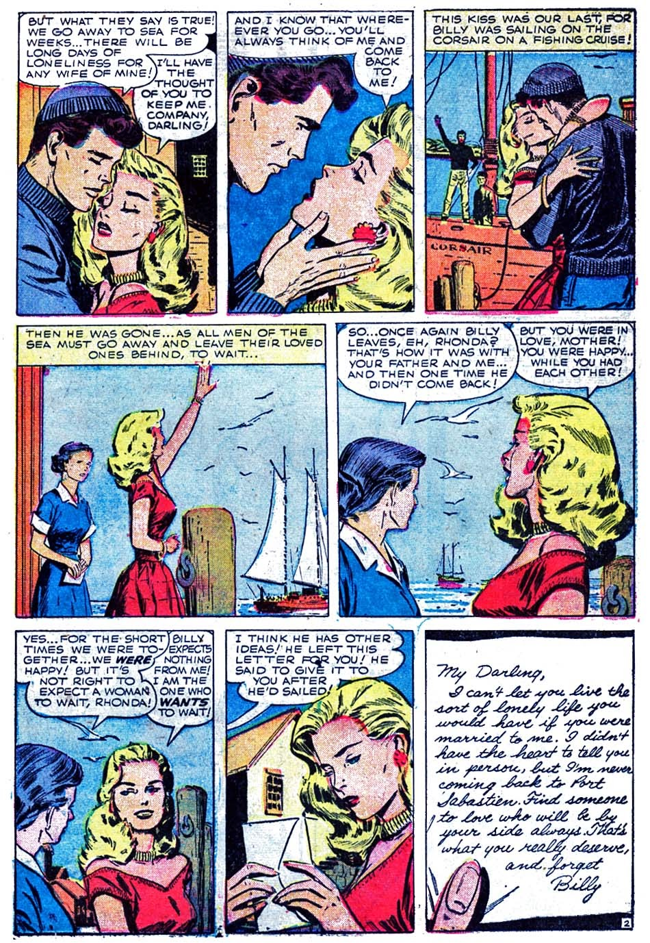 Love Romances (1949) issue 52 - Page 21
