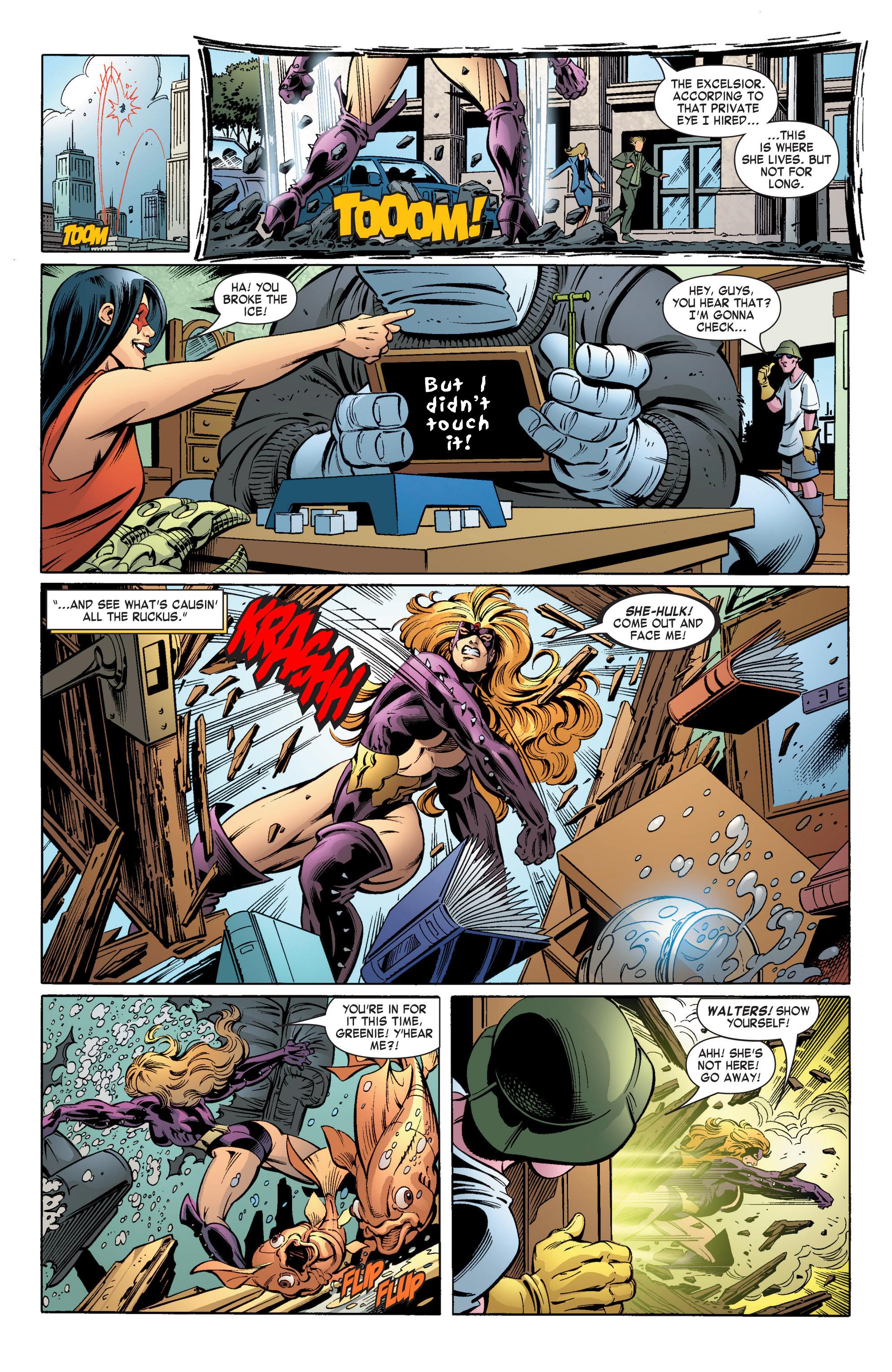 Read online She-Hulk (2004) comic -  Issue #11 - 9