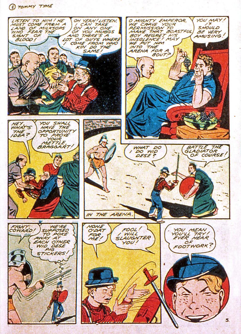 Read online Mystic Comics (1944) comic -  Issue #1 - 39