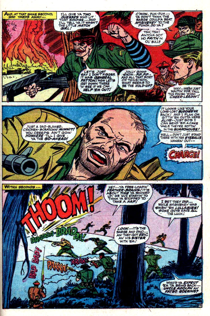 Read online Sgt. Fury comic -  Issue #42 - 25