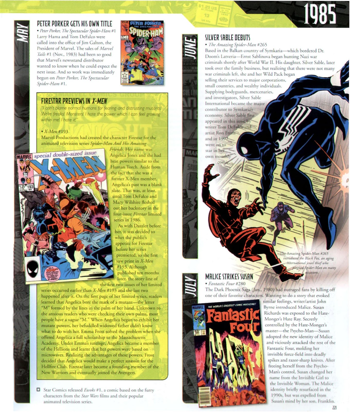 Read online Marvel Chronicle comic -  Issue # TPB (Part 3) - 19