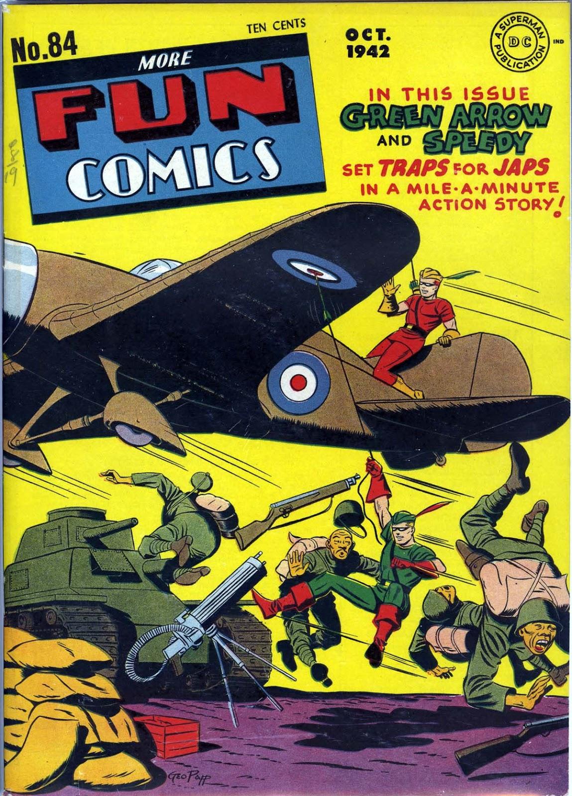 More Fun Comics 84 Page 1